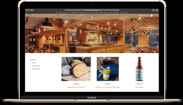 Shop Website Mockup