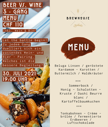 Beer vs Wine, Event, Wine and Dine, Beer and Dine