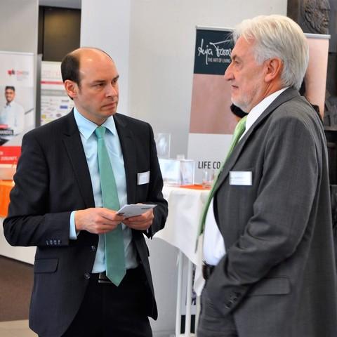 Get-together, Gespräch, 11.Fachkonferenz, Handelsverband