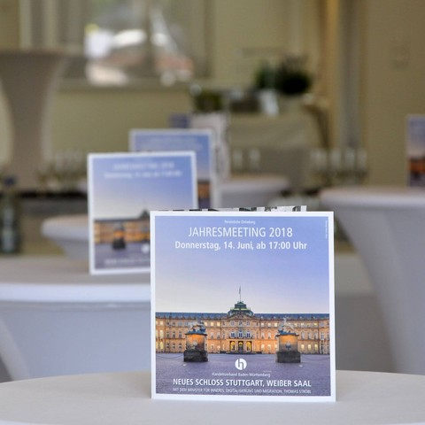 Veranstaltungsbooklet, Broschüre, Handelsverband, Jahresmeeting, 2018