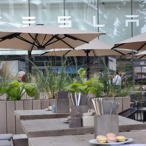 Restaurant, Außenbereich, Jahresmeeting, 2018