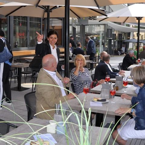 Handelsverband, Restaurant, Außenbereich, Hagmann, Jahresmeeting, 2018