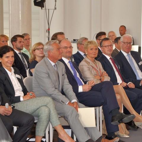 Handelsverband, Stuhlreihe, Saal, voll, Jahresmeeting, 2018