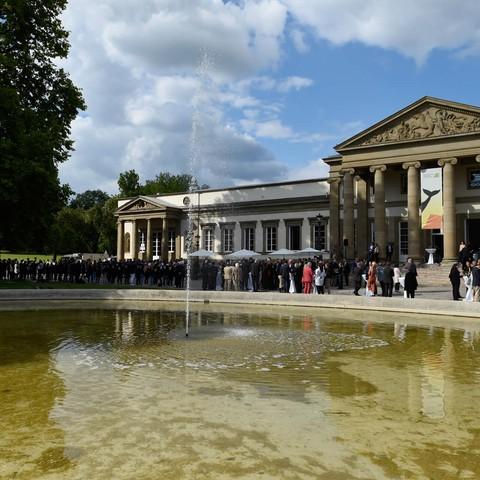 Schloss Rosenstein, Wasser, Politisches Sommerfest, Handelsverband