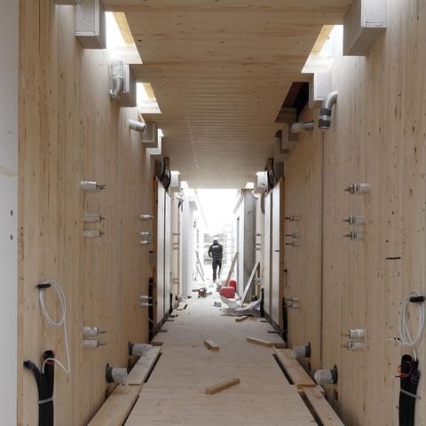 Baustelle Hotel Bergamo