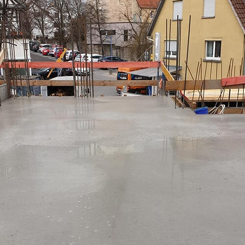 decke beton