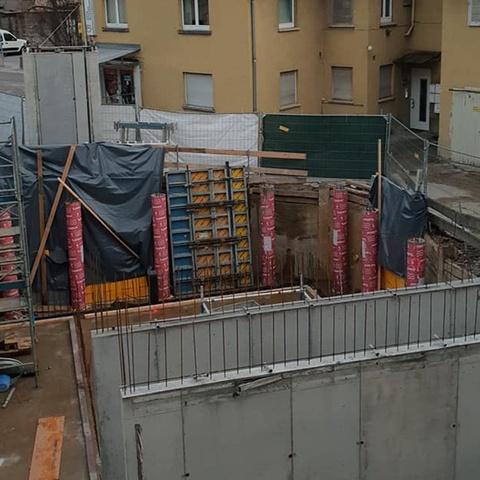 betonwand