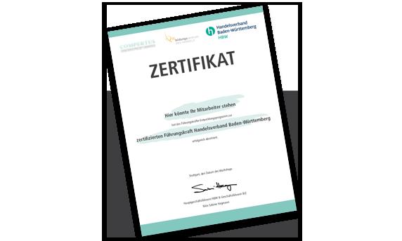HBW Zertifikat