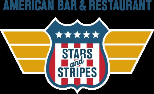 logo, stars and stripes