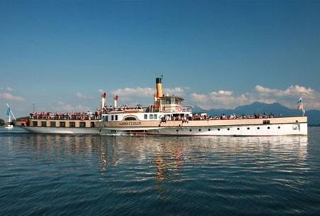 Chiemsee, Schifffahrt, Dampfer