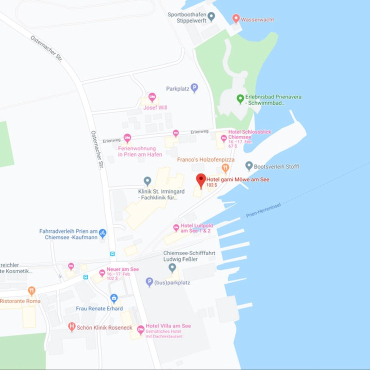 Anfahrt auf GoogleMaps