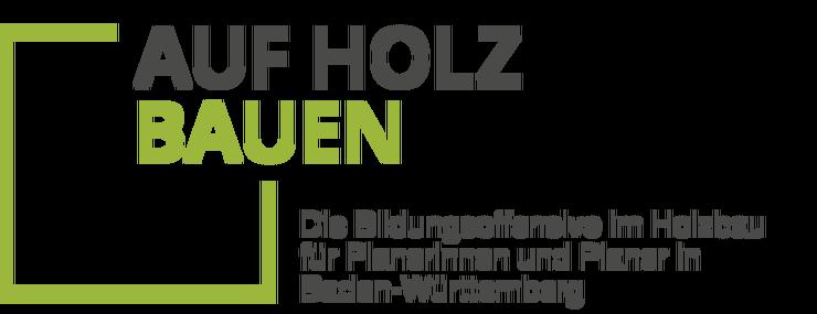 Logo Auf Holz bauen