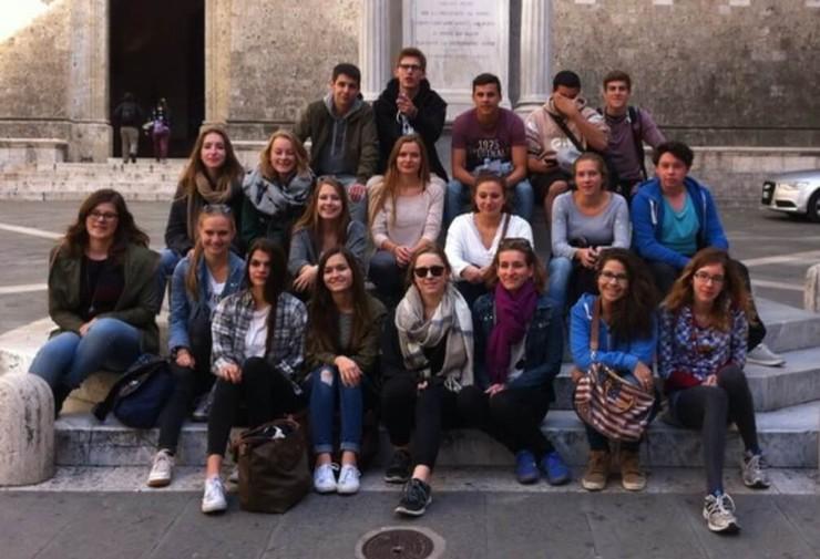 Studienfahrt Florenz Gruppenfoto