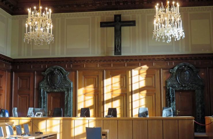 Gerichtssaal Reichparteitagsgelände Nürnberg