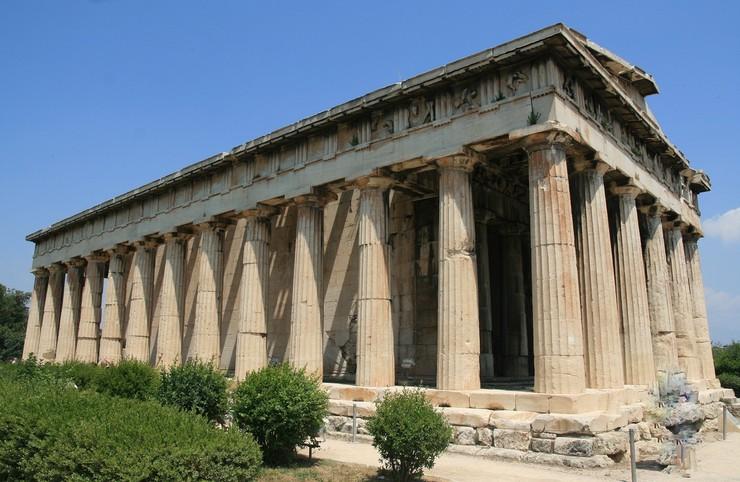 Agora Theseion Athen