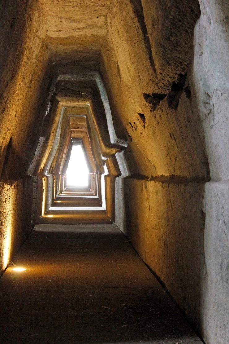 Grotte der Sybille Cumae Sorrent Klassenfahrt