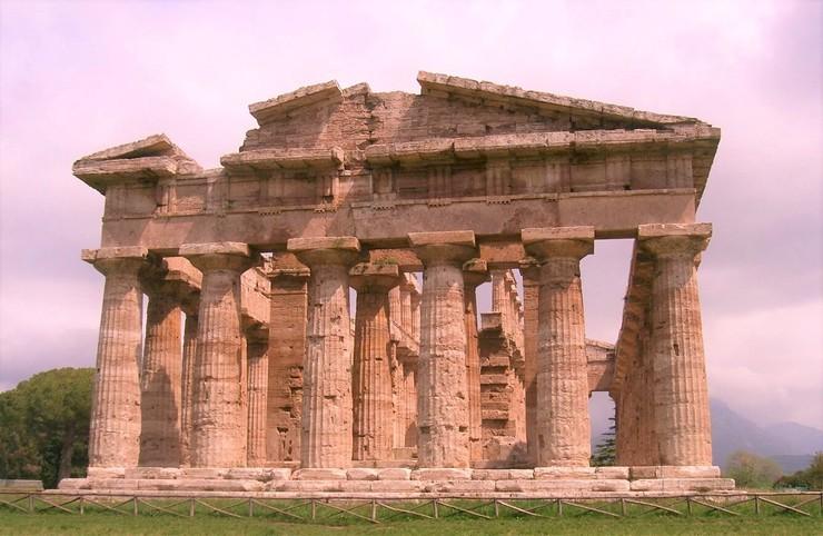 Paestum Tempel