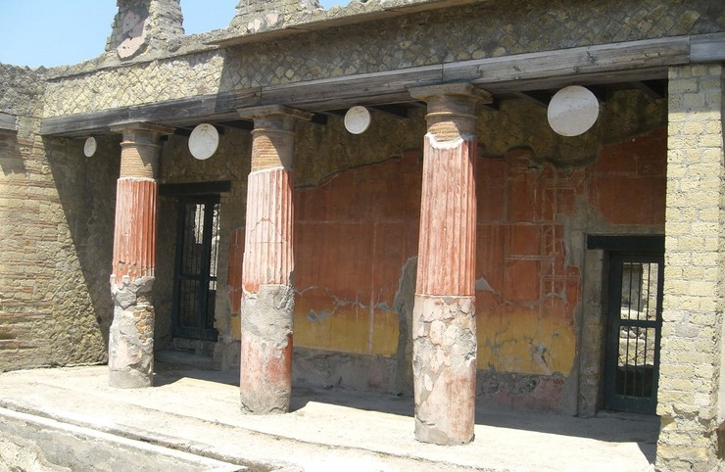 Herculaneum Sorrent Klassenfahrt