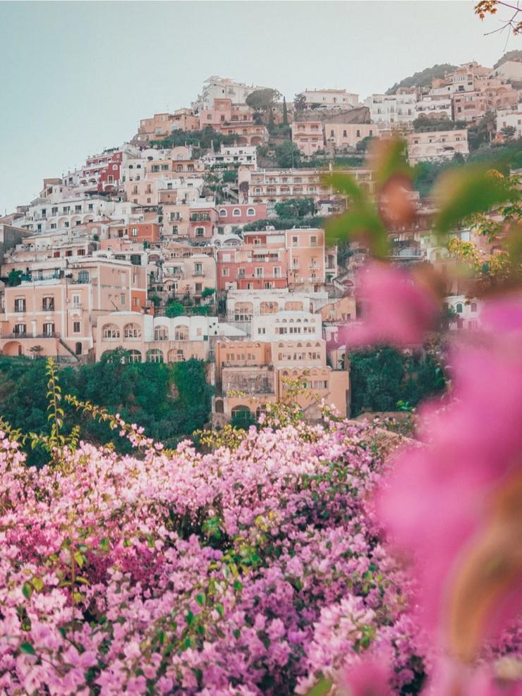 Positano Amalfiküste Sorrent Klassenfahrt