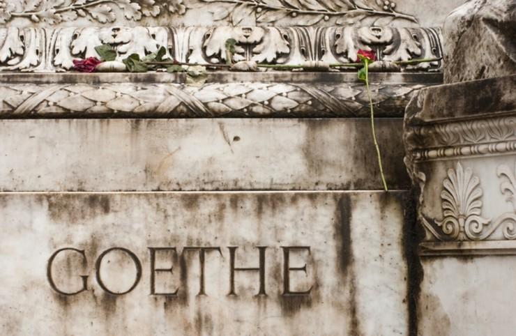 Goethe-Gedenkstein in Rom