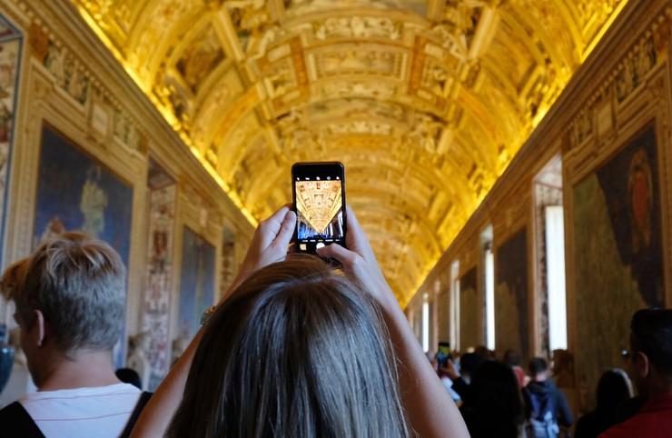 Vatikanische Museen auf Klassenfahrt