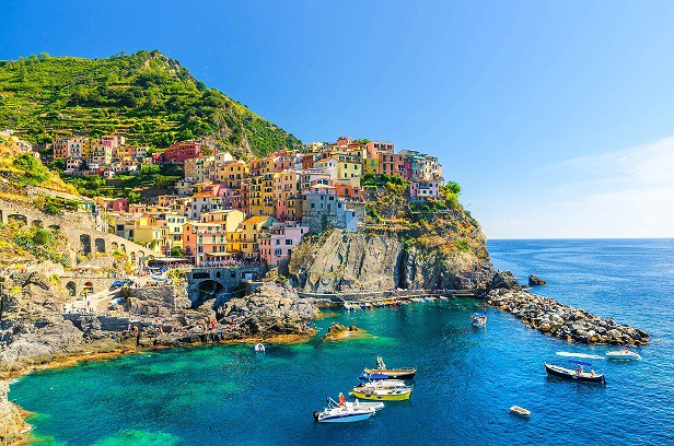 Die Felsen von La Spezia