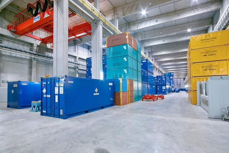 BGE-Zwischenlager lubmin containerlager