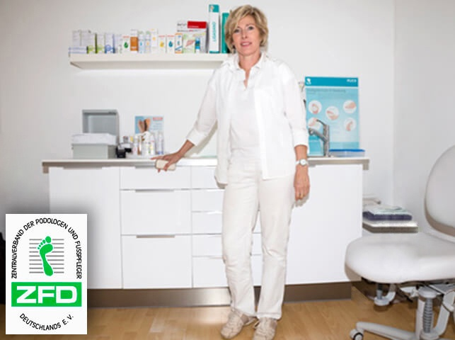 Podologin Susanne Bopp in Praxis Nürtingen