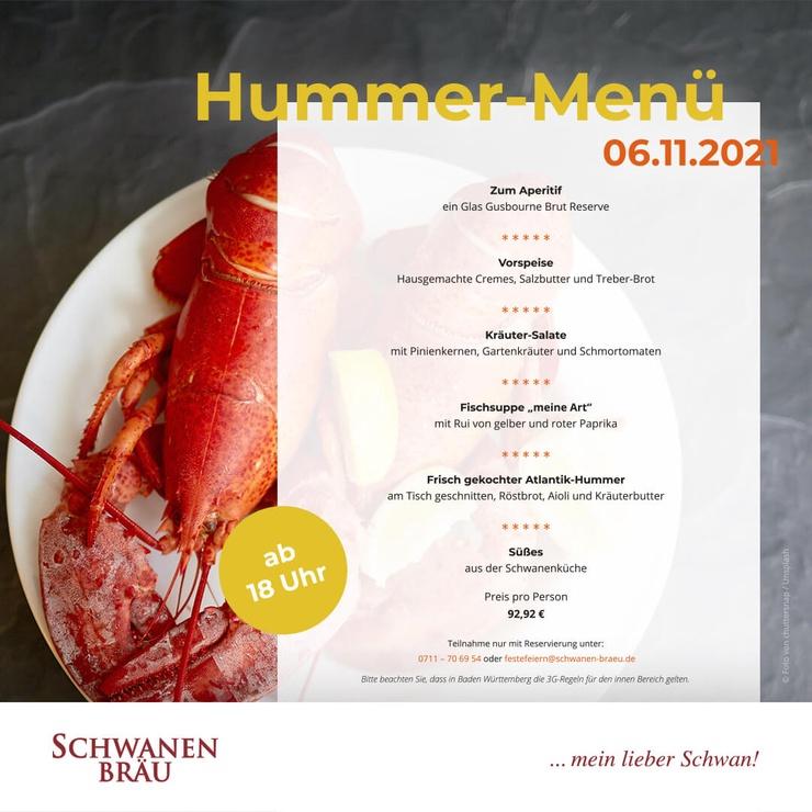 Hummer Menü
