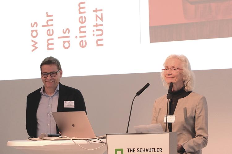 Mia Seeger beim Stuttgarter Stiftungstag